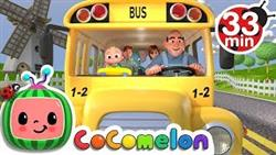 Wheels on the Bus + More Nursery Rhymes  Kids Songs - CoComelon